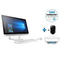 Pavilion 24-b201nf - Blanc + Wireless Mouse X3000 + Deskjet 3637