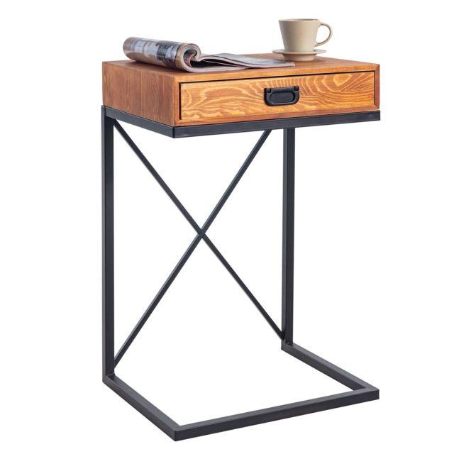 Idimex Bout De Canape Ignacio Table D Appoint Table A Cafe