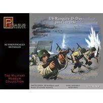 Pegasus Spiele - Pegasus 7351-1 Pg Ii 72/WW Us D-day Figurines De Troupes