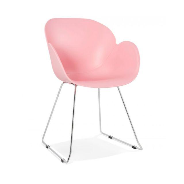 Kokoon Design Fauteuil design Testa Pink 59x58x87 cm