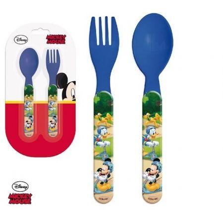 Mickey Mouse Set Couverts Plastique