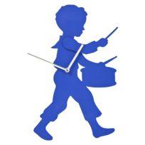 Karedesign - Horloge Little Drummer Bleu Kare Design