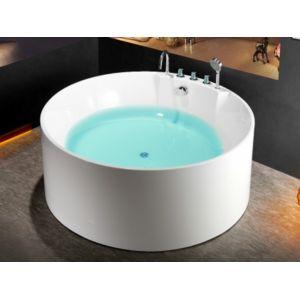 Marque generique baignoire lot ronde linda 150 150 58cm Baignoire marque