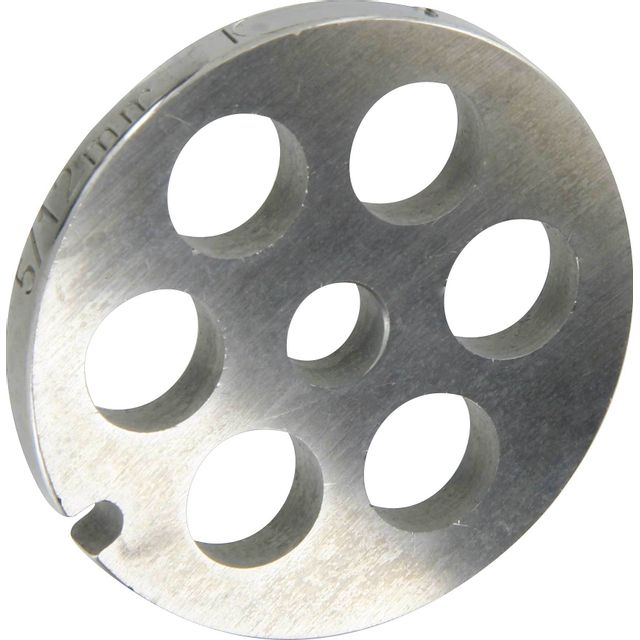 Reber Grille inox Pour hachoir électrique ou manuel n°5 Trou 12mm