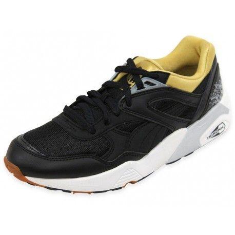 e6084d1a3043 Puma - Trinomic R698 Sport Wns Blk - Chaussures Femme Noir - 40 - pas cher  Achat / Vente Baskets homme - RueDuCommerce