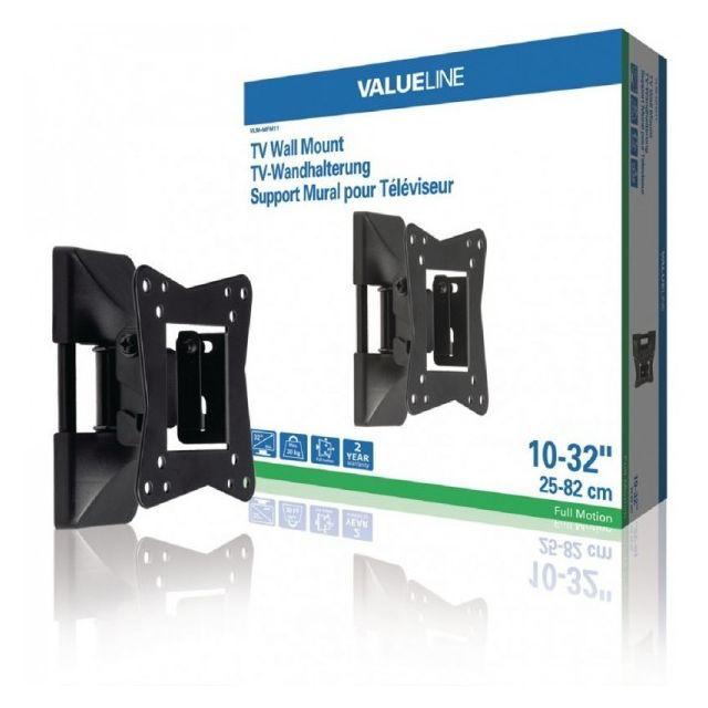 Valueline - Support mural à mobilité intégrale pour Tv 10 - 32