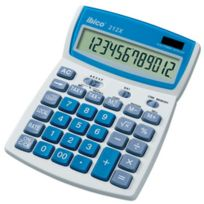 IBico - Calculatrice de bureau 212X - écran Lcd a 12 chiffres