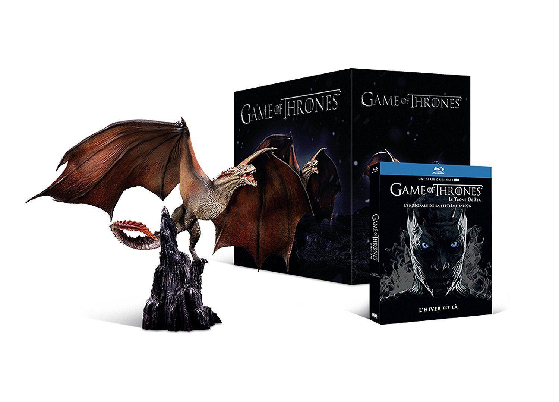 Coffret Blu-ray Game of Thrones saison 7 + 1 figurine Dragon