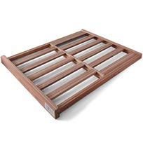 KLARSTEIN - Clayette en bois pour cave à vin 58x47cm