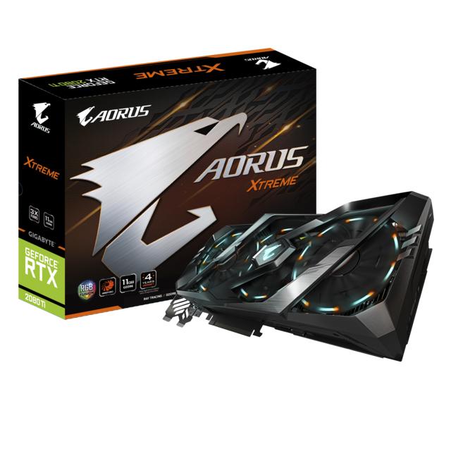 GIGABYTE GeForce RTX 2080 Ti AORUS X - 11 Go