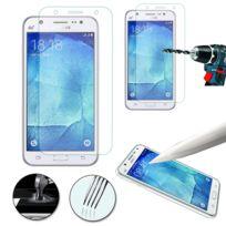 Vcomp - 1 Film Vitre Verre Trempé de protection d'écran pour Samsung Galaxy J5 Sm-j500F - Transparent