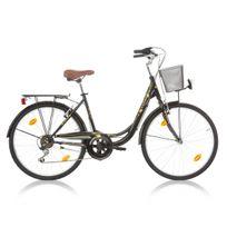 """Descheemaker - Vélo Fille Avignon 26"""" Noir 2017"""