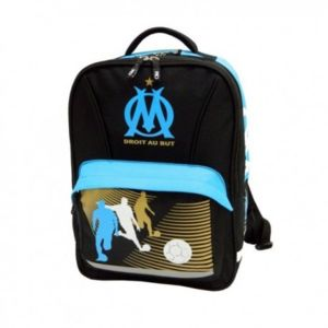 olympique marseille om sac dos scolaire cole enfant gar on bleu pas cher achat vente. Black Bedroom Furniture Sets. Home Design Ideas