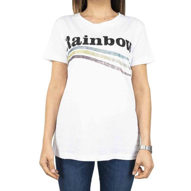 Dixie Femme T944L0811100 Blanc Coton T-shirt