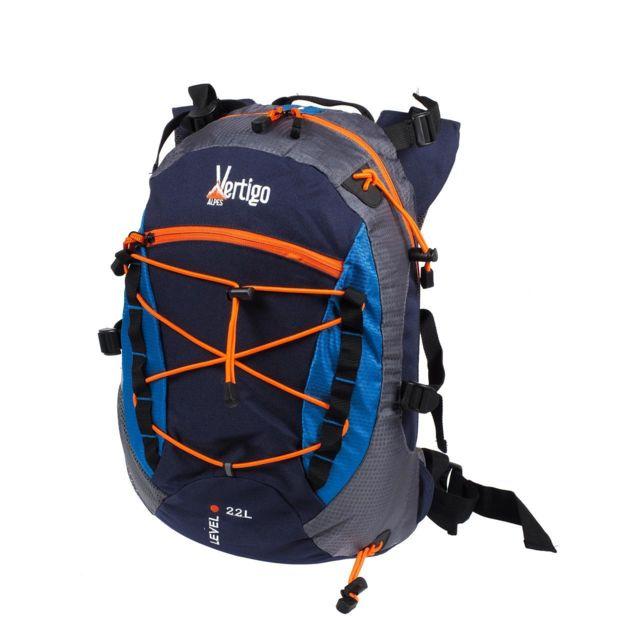 Alpes Vertigo Sac à dos randonnée Powder 22l nv/trq sacados Bleu 53801