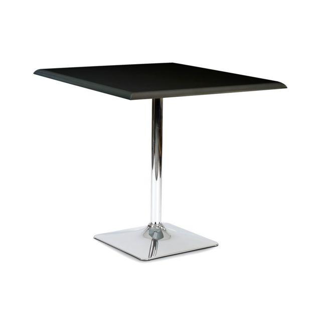81cm Karl Noire Non Table 80cm Altobuy Carrée X oeQCWrEdxB