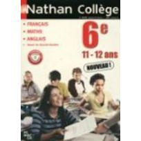 Nathan - collège 6ième - Français/Maths/Anglais