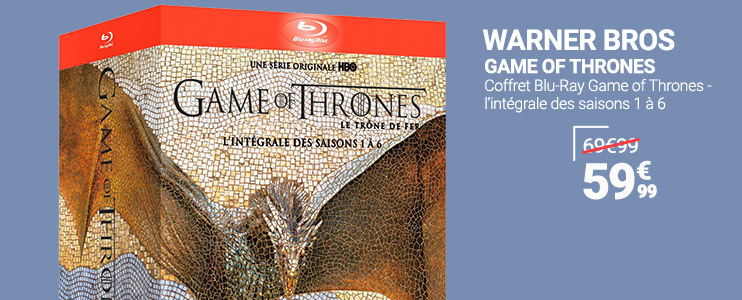 Coffret Blu-Ray - Game of Thrones