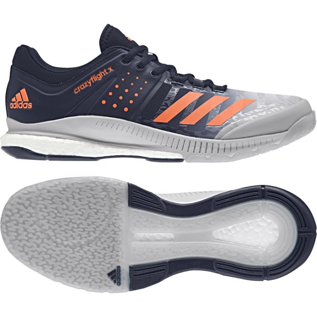 new products e6fb2 3e931 Adidas - Chaussures Crazyflight X - pas cher Achat   Vente Chaussures volley  - RueDuCommerce