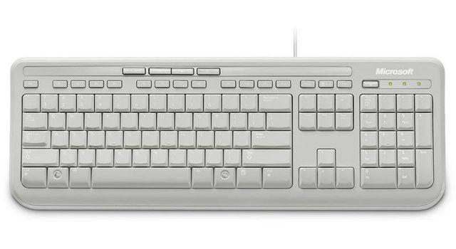 Microsoft Wired Keyboard 600 - Usb Wired Keyboard 600 - Usbblanc