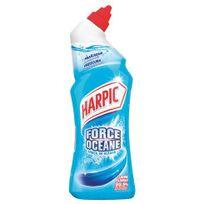 Harpic - Gel pour sanitaire auto actif force océan - 750 ml