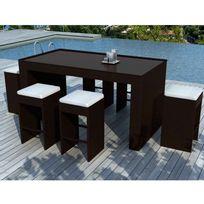 bar de jardin achat bar de jardin pas cher rue du commerce. Black Bedroom Furniture Sets. Home Design Ideas