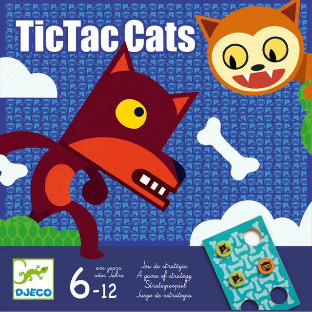 Djeco TicTac Cats