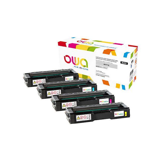 Toner Armor Owa compatible Ricoh 407718 magenta pour imprimante laser