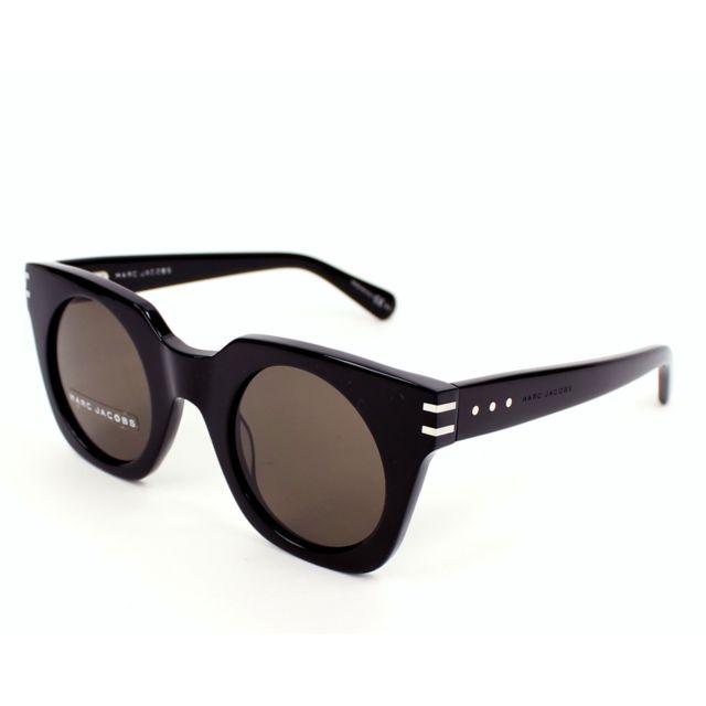 Marc Jacobs - Lunettes de solei Mj-532-S 807 EJ Mixte Noir - pas cher Achat    Vente Lunettes Tendance - RueDuCommerce b58dce2c2d50