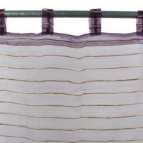 MonbeauRideau - Voilage Sham 110x250 violet