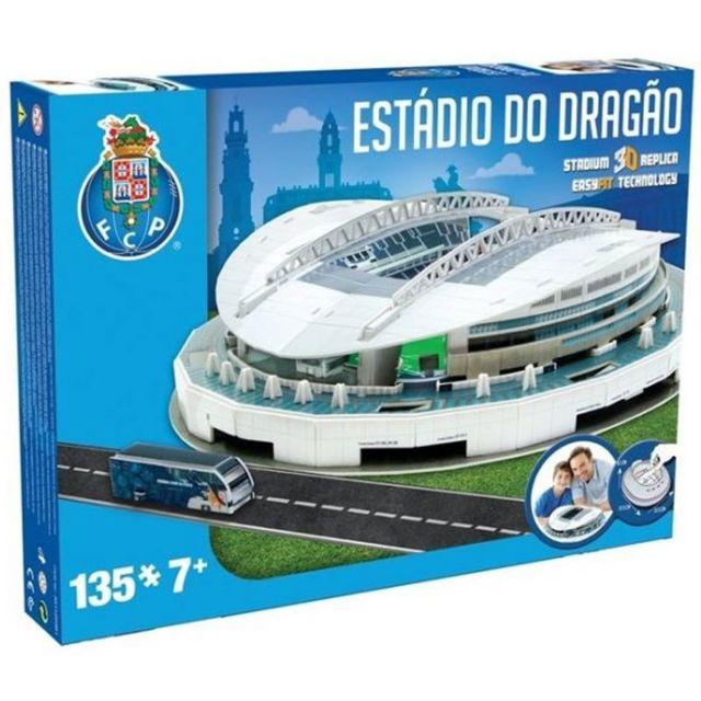 MEGABLEU Puzzle 3D 135 pièces : Stade de foot : Le stade du Dragon FC Porto