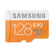 Samsung - Micro SDXC EVO 128 Go Classe 10