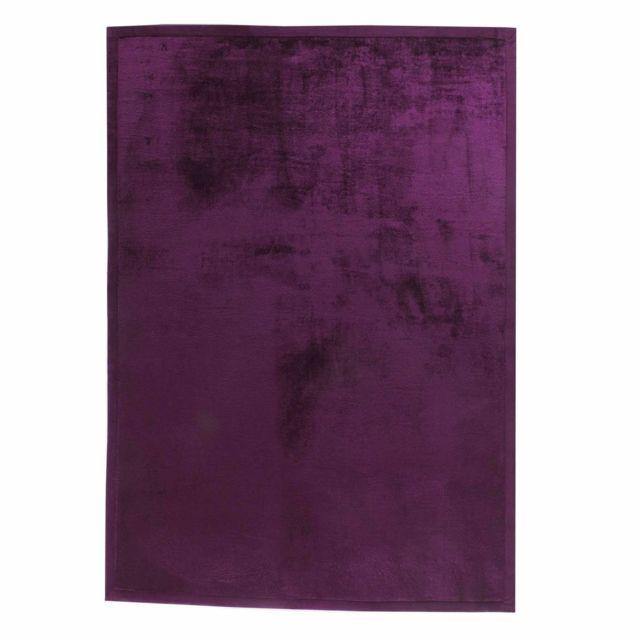 Alinéa - Rubico Tapis violet clair 140x200cm - pas cher Achat ...