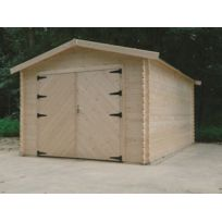 Dedans Dehors - Garage en bois Hobby Atelier Solid 13,83m