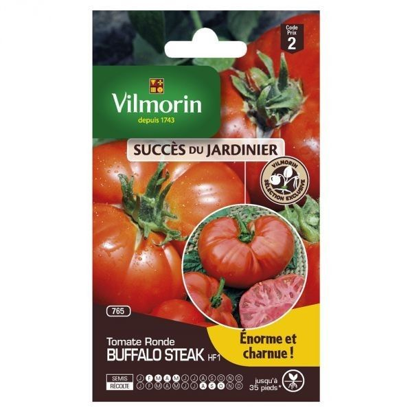 Vilmorin Sachet graines Tomate buffalo Steak Hf1