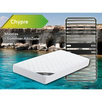 Altobuy - Chypre - Pack Matelas + AltoZone 90x200