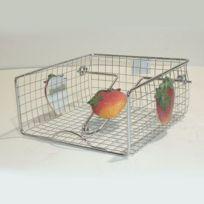 C. Diffusion - Porte-Serviettes jetables panier fil inox Fruits