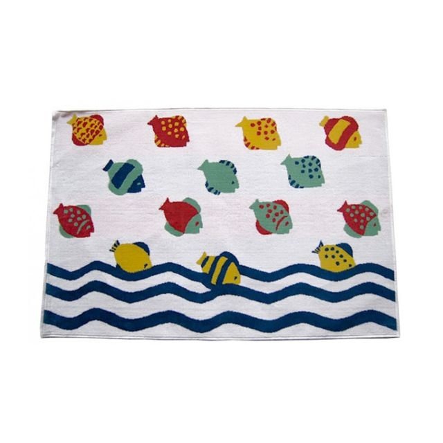 wadiga grand tapis de bain en velours de coton hawa blanc pas cher achat vente serviettes. Black Bedroom Furniture Sets. Home Design Ideas