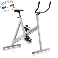 Aquaness - vélo aquatique de piscine gris - v1 gris