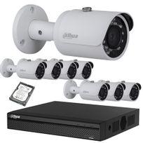 Securitegooddeal - Kit vidéo surveillance Hd Cvi 8 Caméras 720P