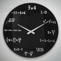 Vimeu-Outillage - Horloge Murale Maths