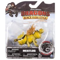 Dragons - Spin Master - Meatlug - Dragon Vert - Race To The Edge - Legends Collection