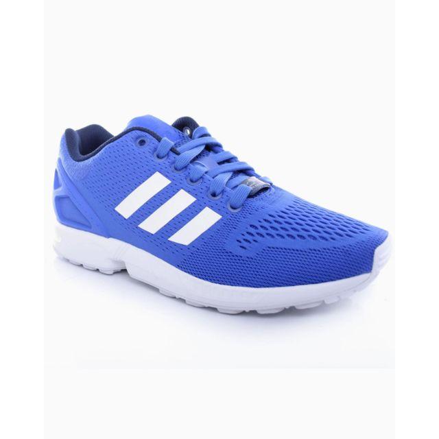 Adidas originals - Soldes ! Basket Adidas Zx Flux Bleu Electrique