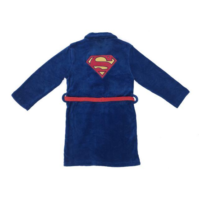 DC COMICS Peignoir enfant superman Peignoir enfant avec fermeture kimono