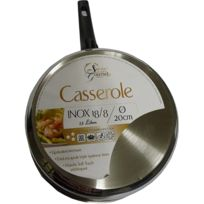 Secret Des Gourmets - Casseroles inox 20 cm