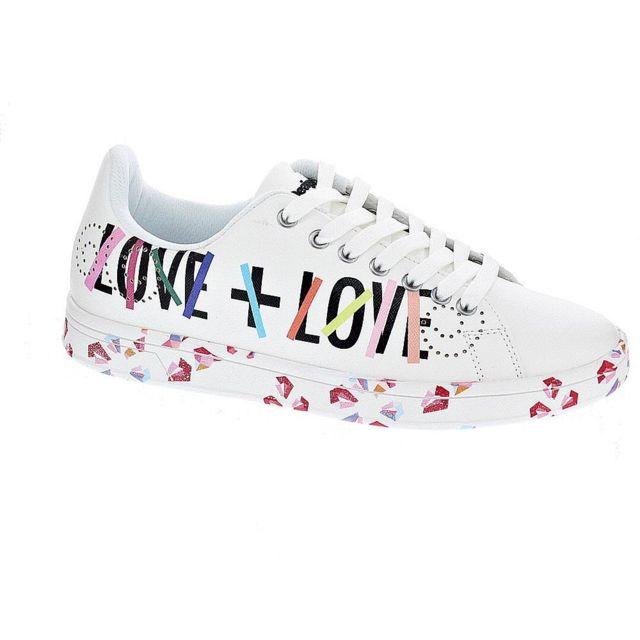 prix compétitif 9b5a5 d30ed Desigual - Chaussures Femme Baskets basses modele Cosmic ...