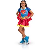 WONDER WOMAN - Déguisement classique Supergirl Superhéro Girls - taille M - I-620742M