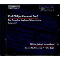 Bis - Carl Philipp Emanuel Bach - Concertos pour clavecin Vol. 3 Spanyi, clavecin; concerto Armonico; Dir. Szuts