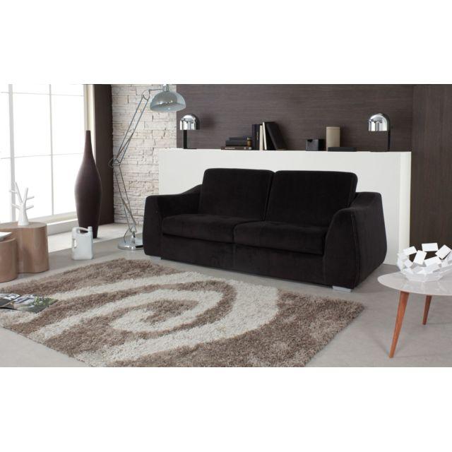 relaxima canap convertible floride couchage 140x200 matelas mousse pillotech haute r silience. Black Bedroom Furniture Sets. Home Design Ideas