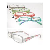 73a298a64f Sans - Paire lunette de lecture +3.00 Fleurs Loupe Grossissante Mod1 Gris -  757